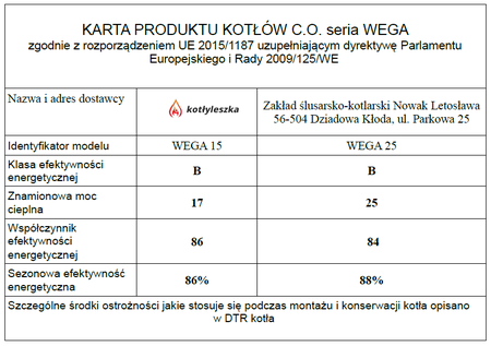 Kocioł c.o. HEKLA WEGA 25 kW - 5 klasa EcoDesign (8)