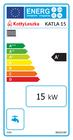 Kocioł c.o. na pellet  KATLA 15 kW - 5 klasa EcoDesign (5)