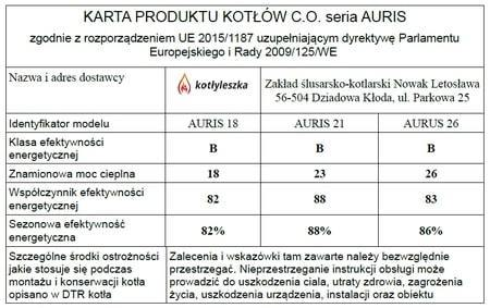 Kocioł c.o. na ekogroszek AURIS 18 kW - 5 klasa EcoDesign (8)