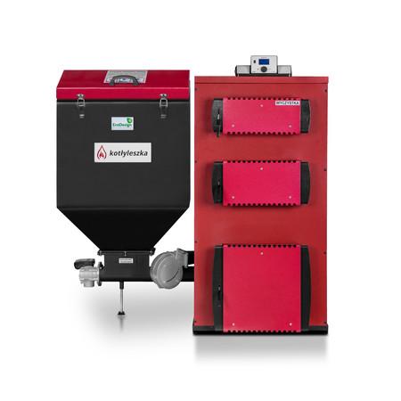 Ekologiczny kocioł c.o. HEKLA 100 kW KG - 5 klasa EcoDesign