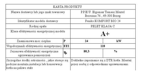 Kocioł c.o. na pellet KOMFORT BIO 24 kW - 5 klasa EcoDesign (8)